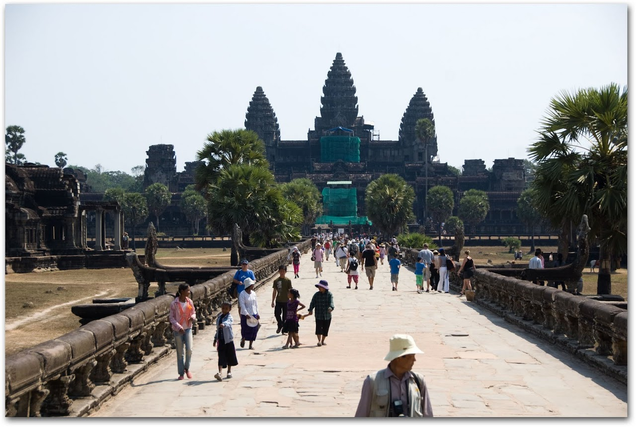 writing about angkor wat temple