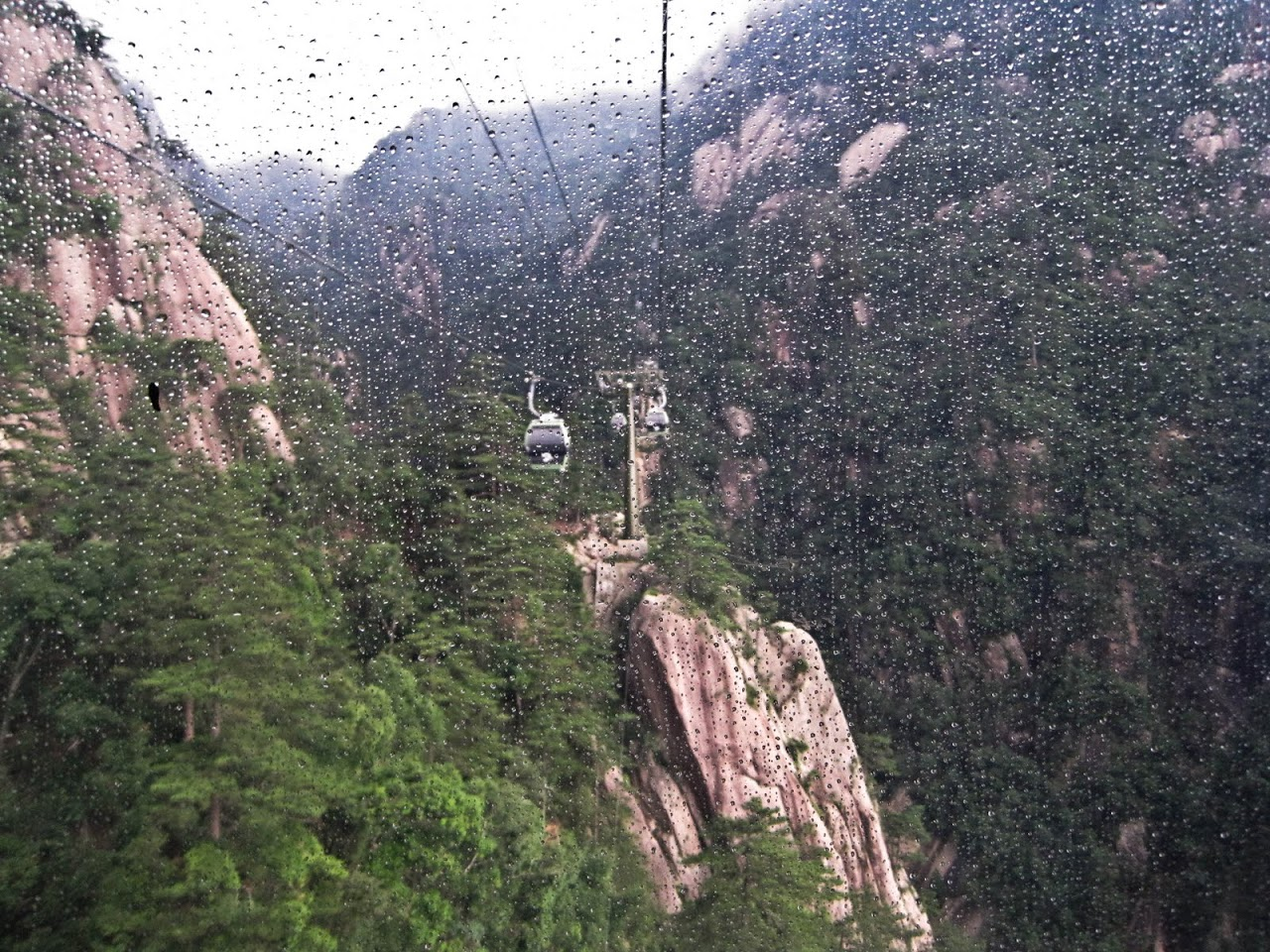 Cable car to Huang Shan