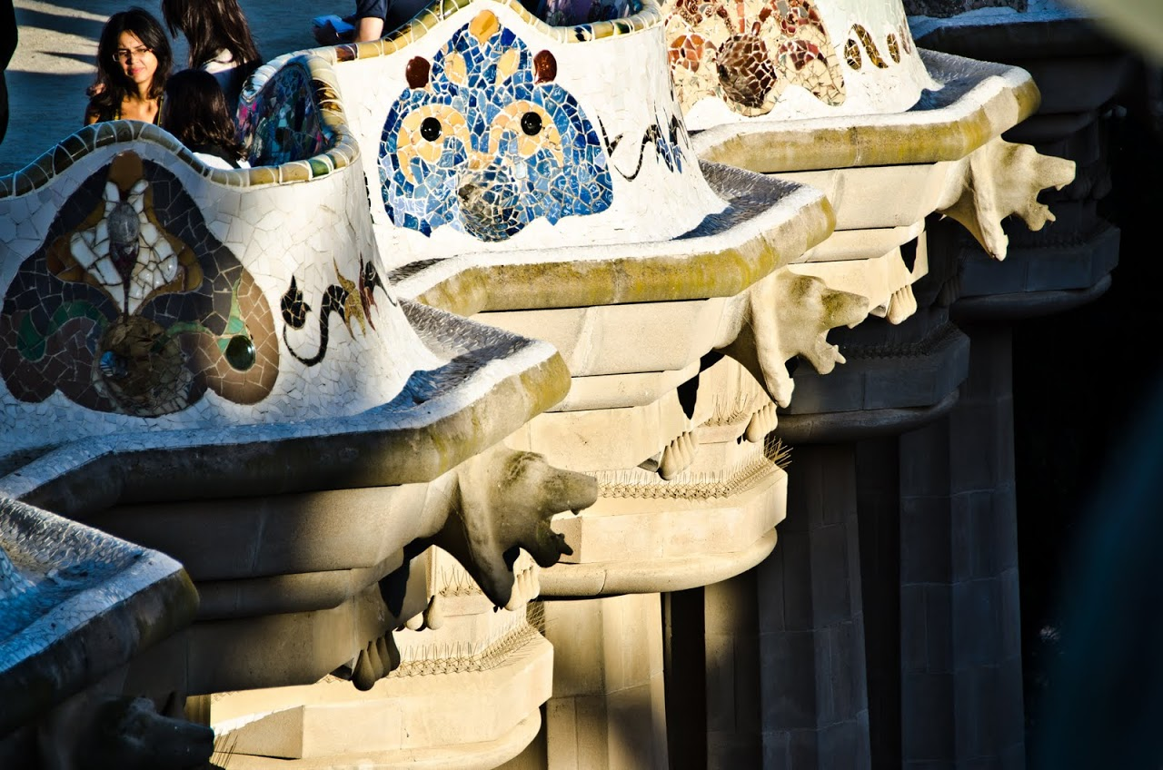 Benches at Parc Guell
