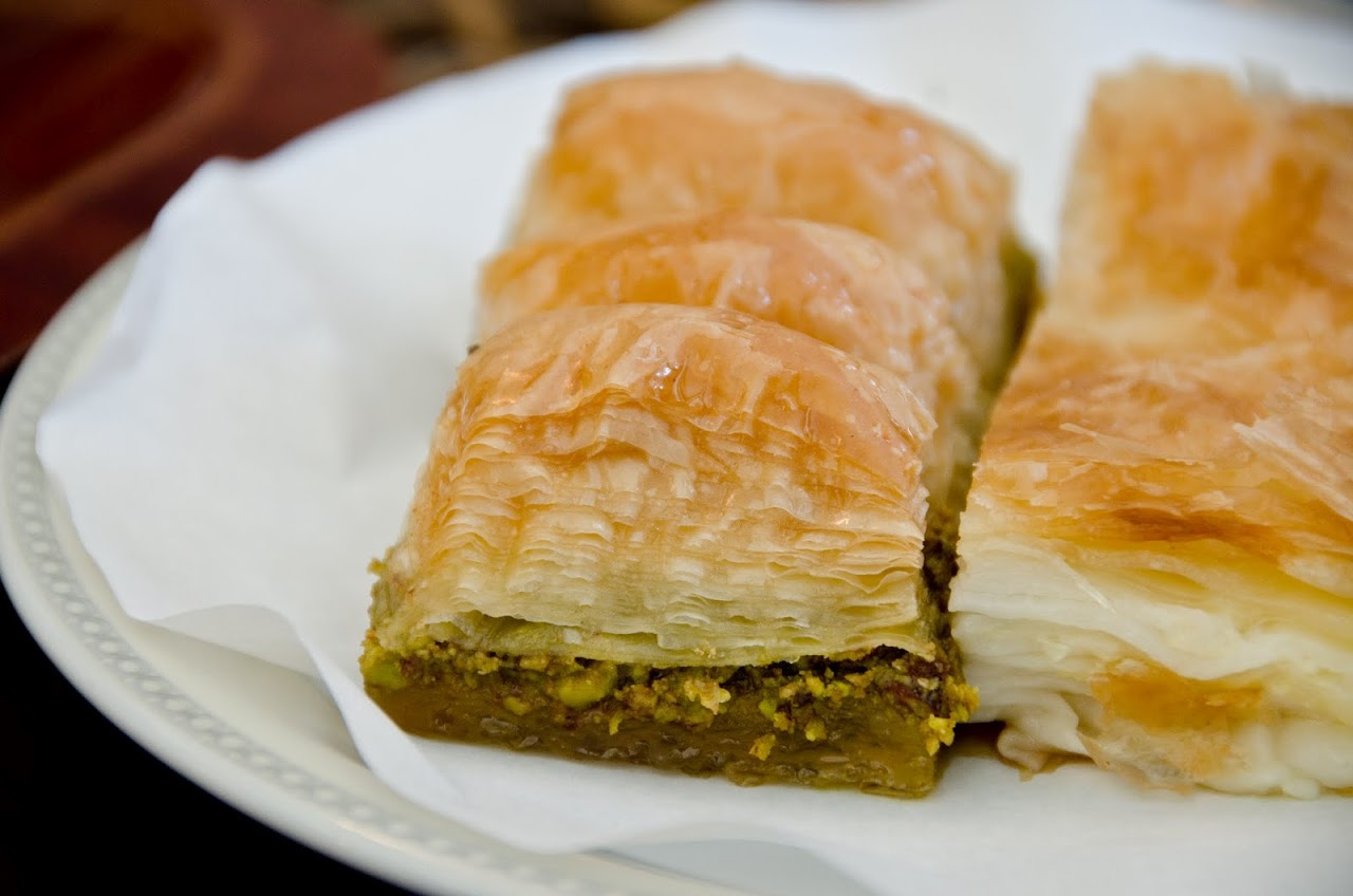 Borek and baklava