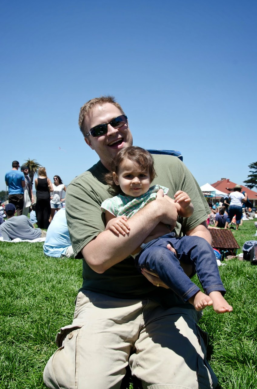 Patrick and Amara at the Picnic at the Presidio